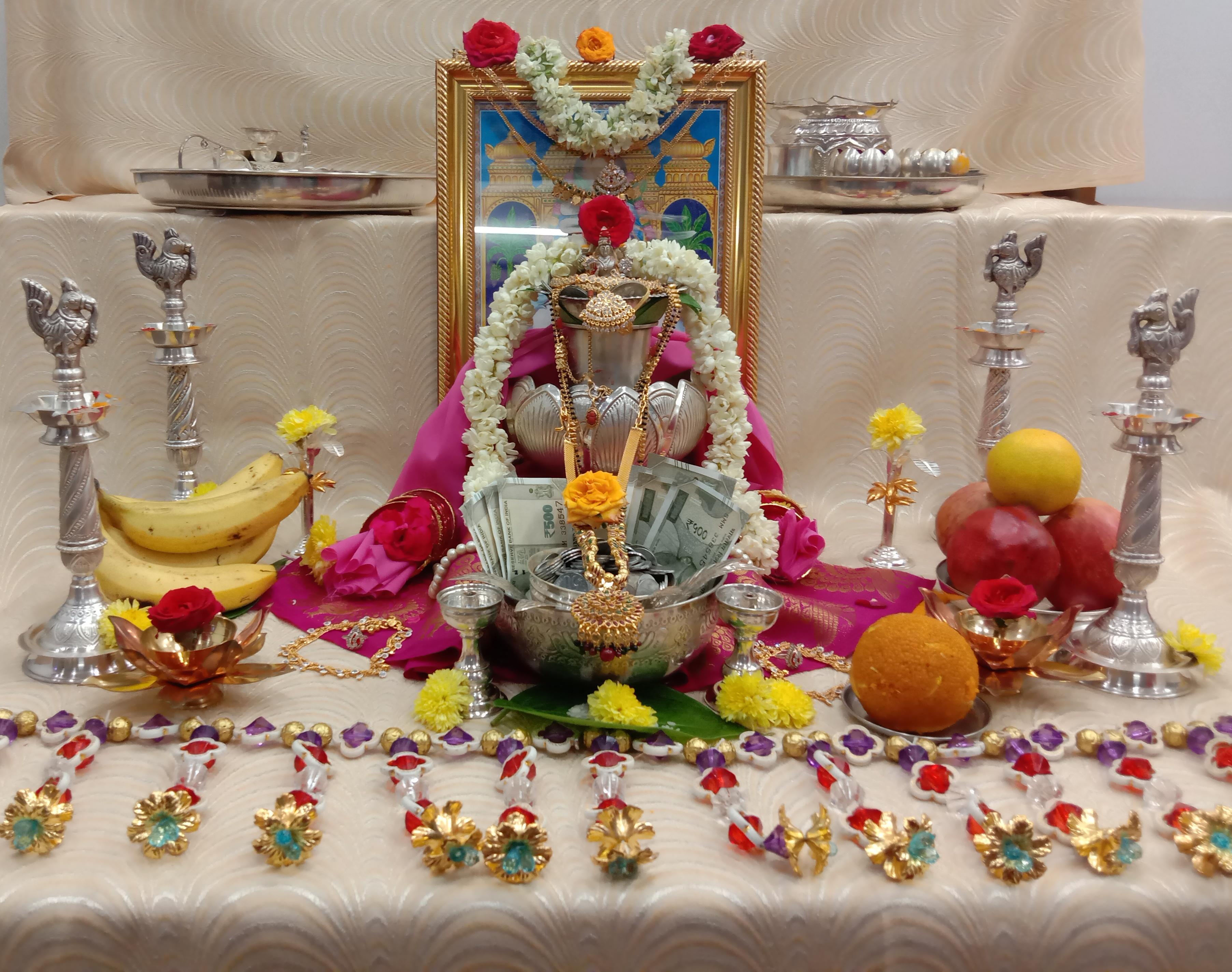 Dhanalakshmi Pooja Rituals