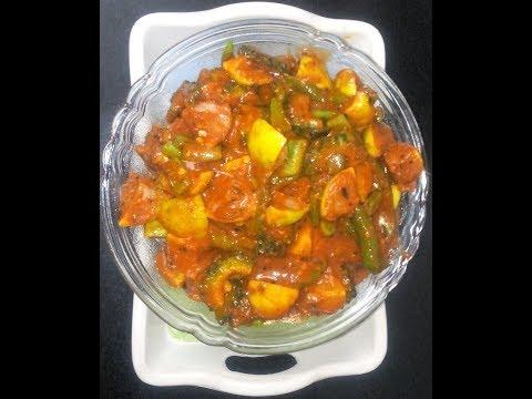 vegetable pickle recipe